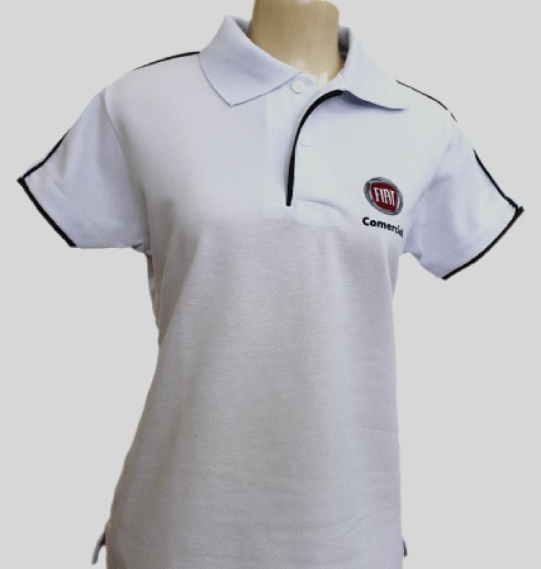 74e2246293 Camisa Polo Branca Feminina Preço Tremembé - Camisa Polo Preta Personalizada