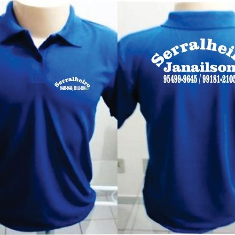camisa polo personalizadas para empresas preço Artur Alvim 3e207411e8d59