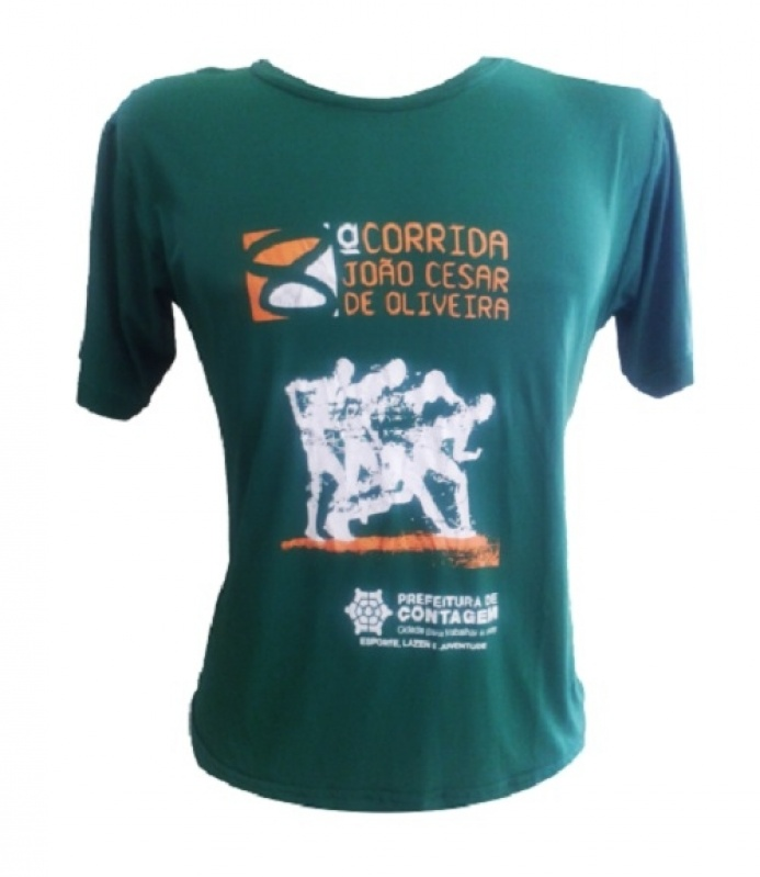 Camisetas Promocionais para Corrida Pirapora do Bom Jesus - Camiseta Feminina Promocional