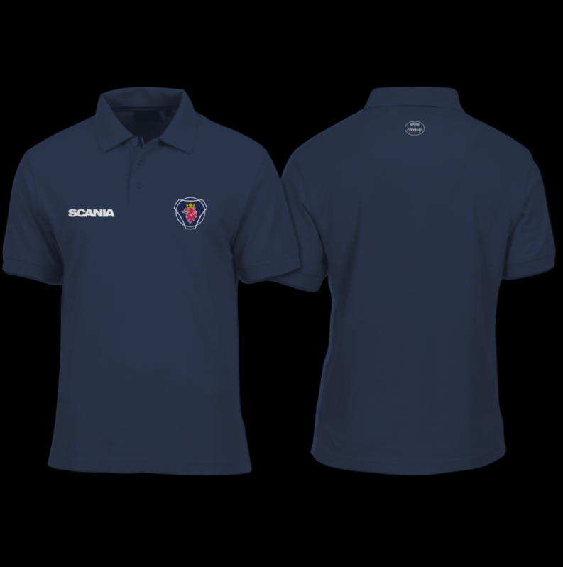 c10cc6a77d703e Camisa Polo Personalizada Uniforme - Power Camisetas