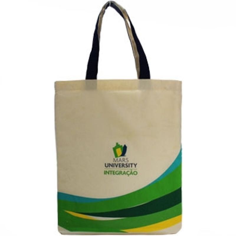 Ecobags para Personalizar Ibirapuera - Ecobag Atacado