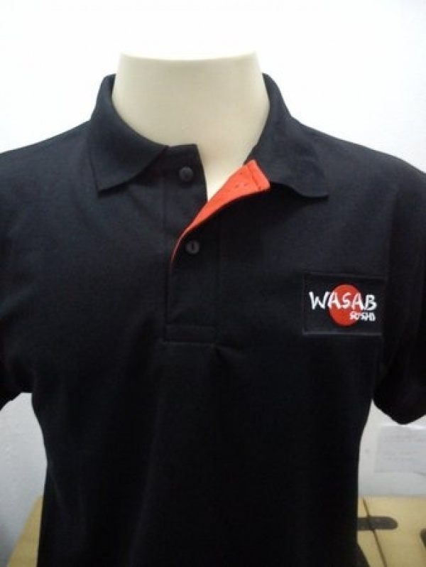 bd81cf66ee256 Onde Encontro Camisa Polo Personalizada com Bordado Vila Mariana - Camisa  Polo Feminina