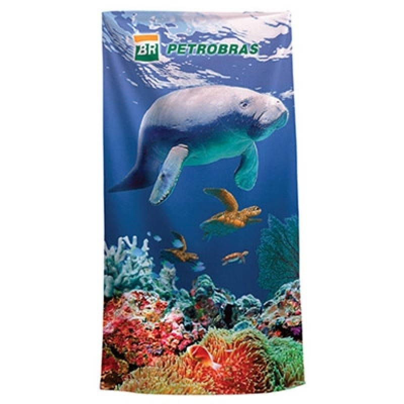 Quanto Custa Toalha de Praia Personalizada com Logo Alto de Pinheiros - Toalha de Praia Personalizada para Brinde