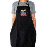 avental com bolso para feiras
