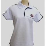 camisa polo branca feminina preço Pirituba