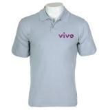 camisa polo personalizada com bordado Pinheiros