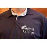 camisa polo personalizadas para empresas Serra da Cantareira