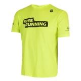 camiseta de corrida masculina Pari