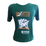 camiseta de corrida personalizada Chora Menino