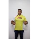 camiseta personalizada bordada preço Parque São Rafael