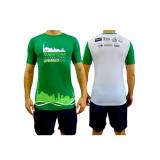 camisa de corrida masculina