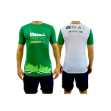 camiseta de corrida de rua personalizada