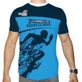 camiseta e short de corrida