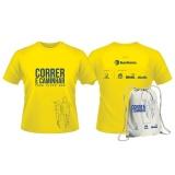 camiseta para corrida personalizada