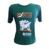 camisetas promocionais para corrida Pari
