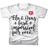 confecção de camiseta feminina promocional Santa Cecília