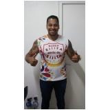 confecção de camiseta personalizada bordada Barra Funda