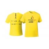 confecção de camiseta personalizada para brinde Aclimação