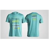 loja de camiseta personalizada bordada