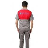 onde comprar uniforme profissional brim Cidade Jardim