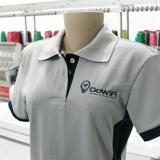 quanto custa camisa polo personalizada com bordado Vila Marisa Mazzei