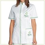 uniforme profissional feminino social preço Parelheiros
